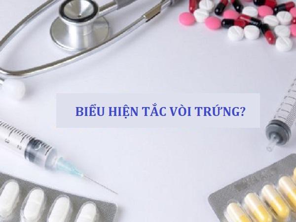 Biểu hiện tắc vòi trứng ở phụ nữ và cách điều trị