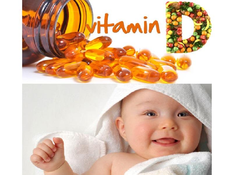 Cach bo sung vitamin D cho tre sơ sinh 6
