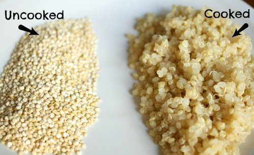 Cach che bien hat quinoa cho be an dam 3