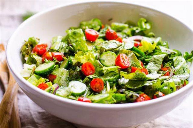 Cach lam salad rau cu 2