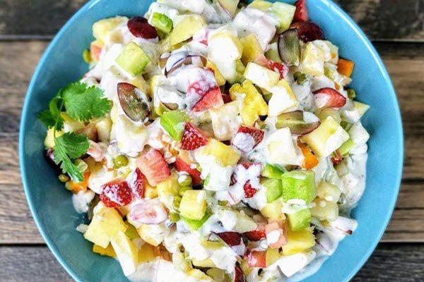 Cach lam salad rau cu 3