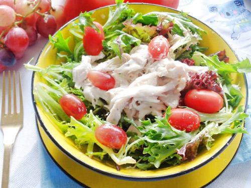 Cach lam salad rau cu 6