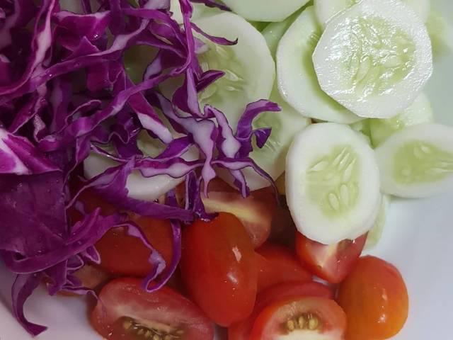 Cach lam salad rau cu 7