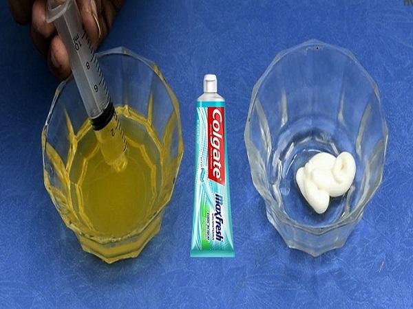 Cách thử thai bằng kem đánh răng tại nhà