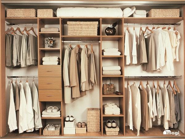 Cách sắp xếp tủ quần áo siêu gọn theo nguyên tắc 5S