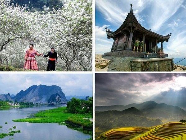 Tổng hợp các địa điểm du lịch Tết 2021 đẹp nhất