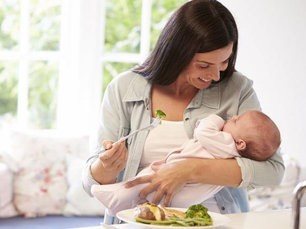 Mẹ cho con bú nên ăn gì tốt cho cả mẹ và bé?