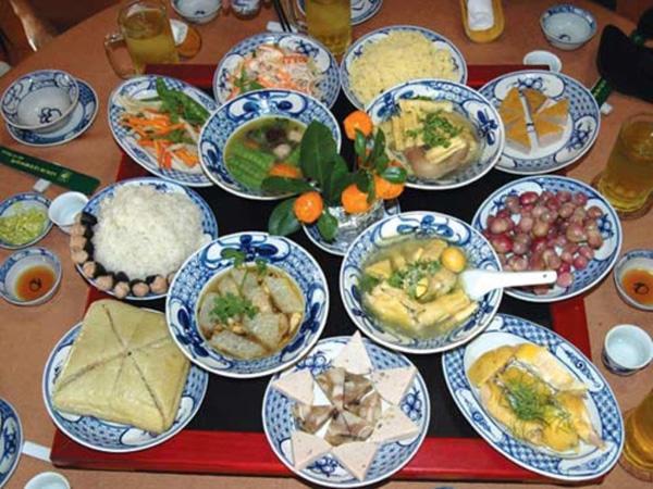 Tổng hợp các món ăn Tết đặc trưng của ba miền Việt Nam