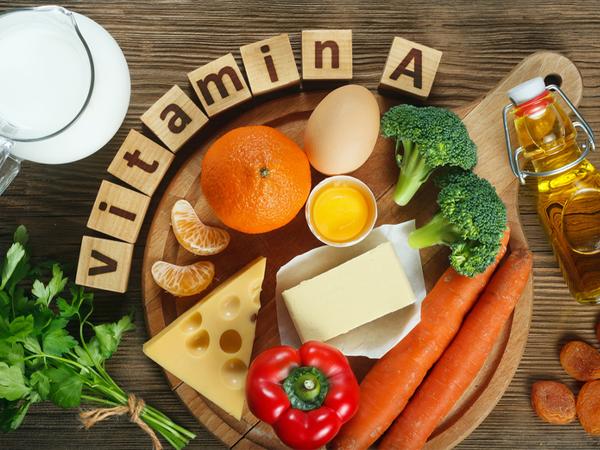 Các loại thực phẩm giàu vitamin A có lợi cho cơ thể