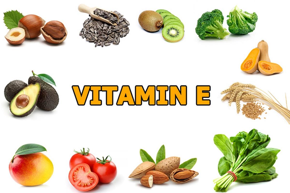Thuc pham giau vitamin e