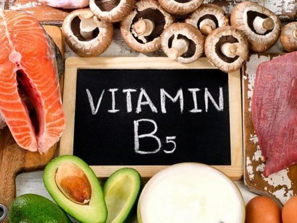 Vitamin B5 có trong thực phẩm nào và tác dụng của nó đối với cơ thể