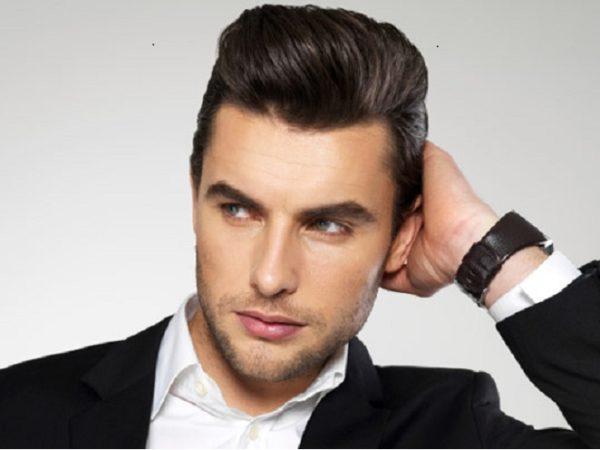 Hướng dẫn cách vuốt tóc ngược ra sau cho nam vào nếp đẹp cá tính