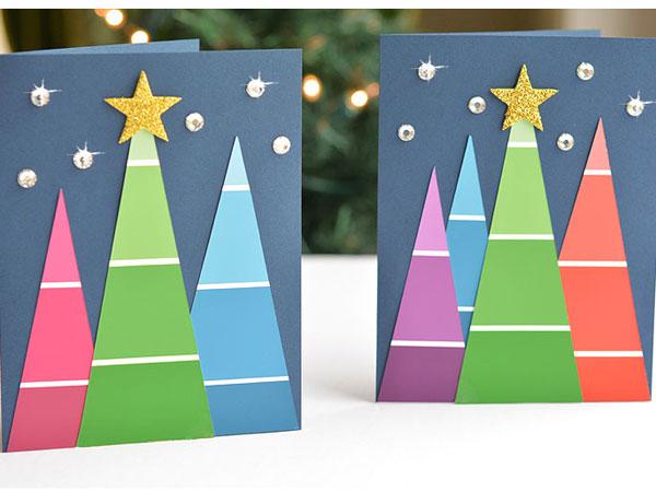 Hướng dẫn làm cây thông Noel handmade bằng giấy đẹp lung linh