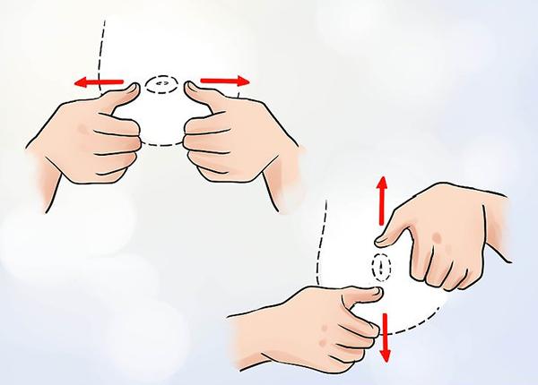 Có nhiều cách khắc phục núm vú bị tụt vào trong