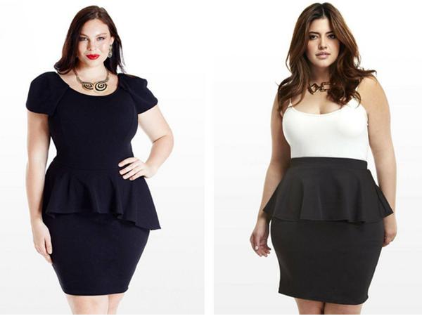 Cách mặc chân váy che khuyết điểm cho người béo