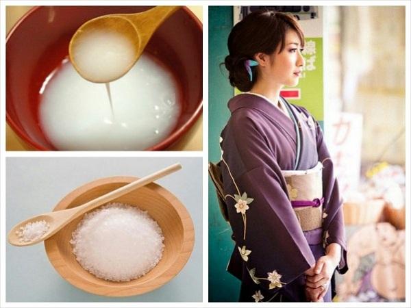 Ngỡ ngàng với tuyệt chiêu làm đẹp bằng nước vo gạo của người Nhật
