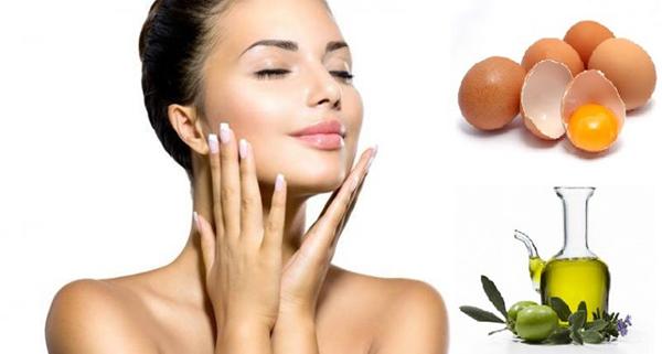 Hỗn hợp dầu ô liu và lòng trắng trứng gà ngăn ngừa lão hóa cho làn da