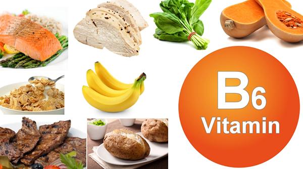 Vitamin B6 tốt cho sức khỏe vòng 1