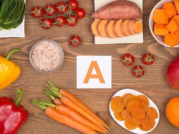 Vitamin A giúp ngăn ngừa da ngực nhăn nheo, chảy xệ