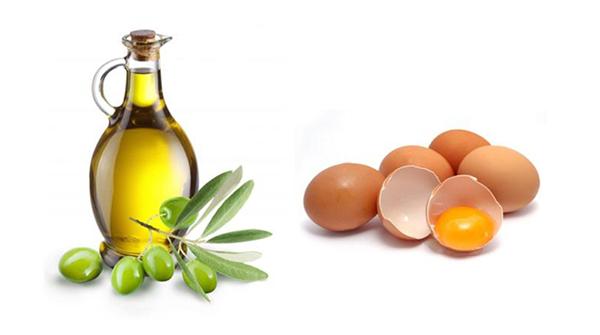 Ủ tóc với trứng gà và dầu oliu cho hiệu quả rất tốt