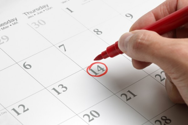 Chu kì kinh bình thường sẽ rụng trứng vào ngày 14