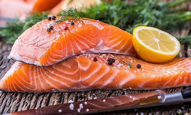 Cá hồi là thực phẩm giàu dinh dưỡng