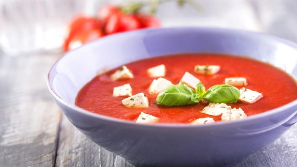 Cháo cà chua đậu hủ