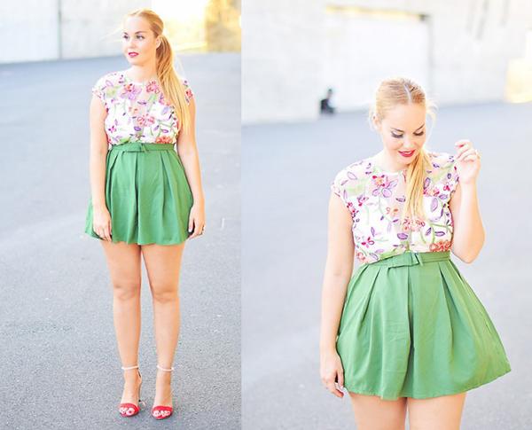 Người mập có nên mặc váy xòe không? Cách mix đồ đẹp với váy xòe cho người béo