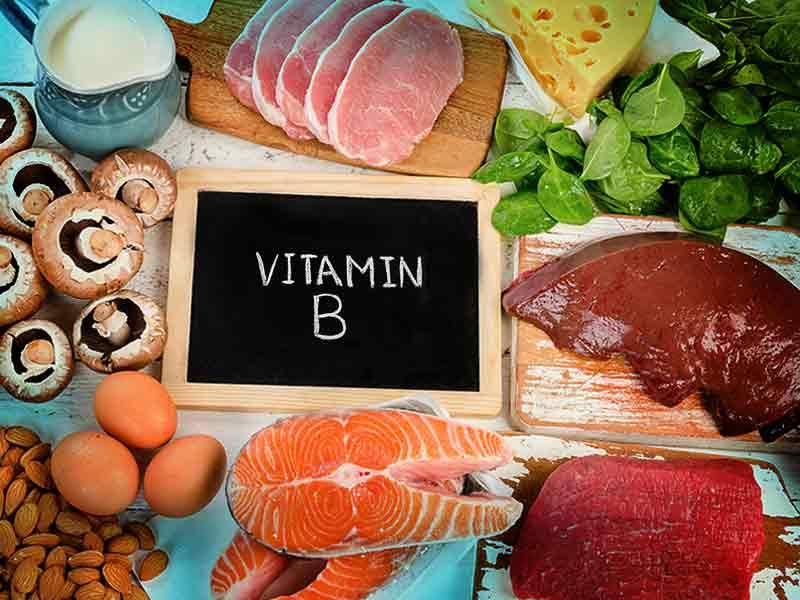 Thit ca va cac san pham tu sua chua nhieu thanh phan vitamin B 2