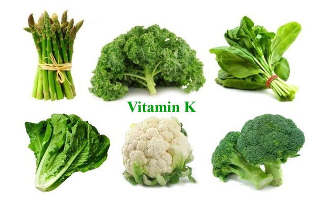 Thành phần vitamin K có trong thực phẩm nào?