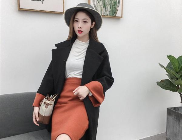 Phối đồ đẹp và chất cùng những mẫu áo dạ hot nhất mùa đông 2018