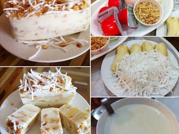 Cách làm kem chuối nước cốt dừa cực dễ tại nhà không cần dùng máy