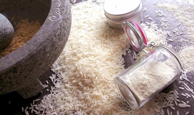 Tẩy tế bào chết bằng gạo