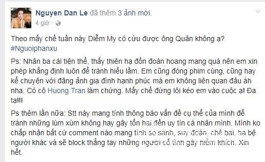 Cũng bị vướng nghi vấn 'mồi chài' Việt Anh, Đan Lê lên tiếng - Ảnh 4