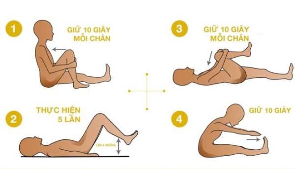 4 động tác giảm đau lưng cho người ngồi nhiều - Ảnh 1