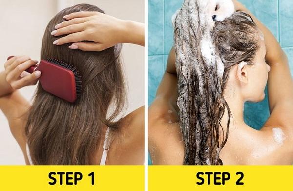 7 lỗi chải đầu khiến tóc nhanh hư tổn - Ảnh 7