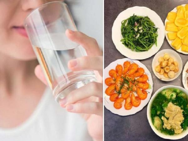 Vừa ăn vừa uống nước có được không? Uống nước trước, trong hay sau bữa ăn là tốt nhất?