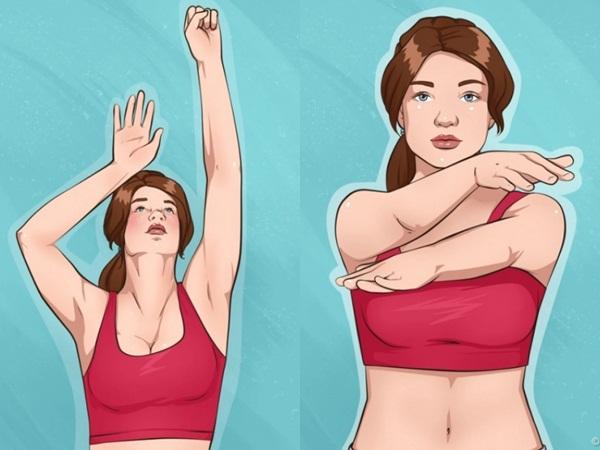 10 bài tập đơn giản giúp cánh tay và ngực săn chắc