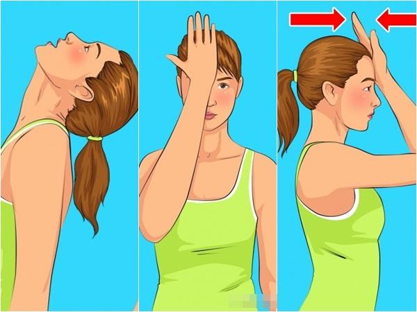 5 bài tập đơn giản làm giảm nọng cằm giúp khuôn mặt thon gọn, trẻ trung hơn