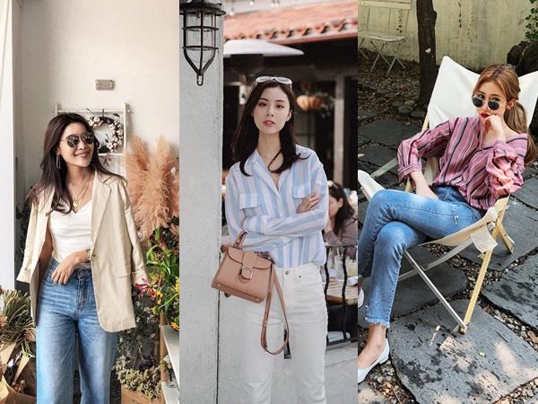 5 công thức biến hóa với quần jeans mà các nàng cứ diện lên là đẹp và chất