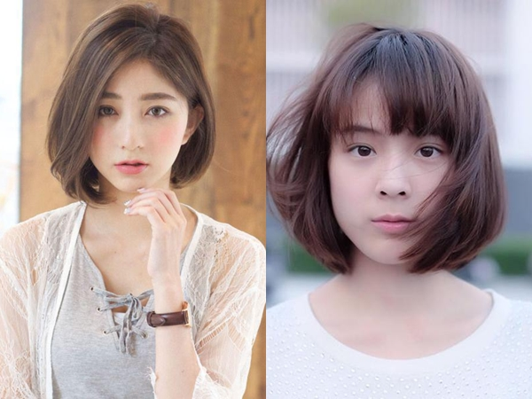 5 kiểu tóc ngắn hợp với khuôn mặt tròn béo xu hướng hot nhất năm 2018