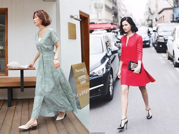 6 mẫu váy công sở 'cạ cứng' cho nàng béo bụng