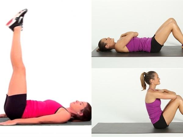 8 cách đơn giản giúp nàng sở hữu vòng bụng phẳng lì