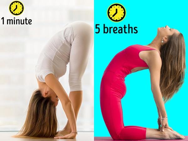 8 tư thế yoga vừa đẹp dáng vừa cải thiện mái tóc gãy rụng