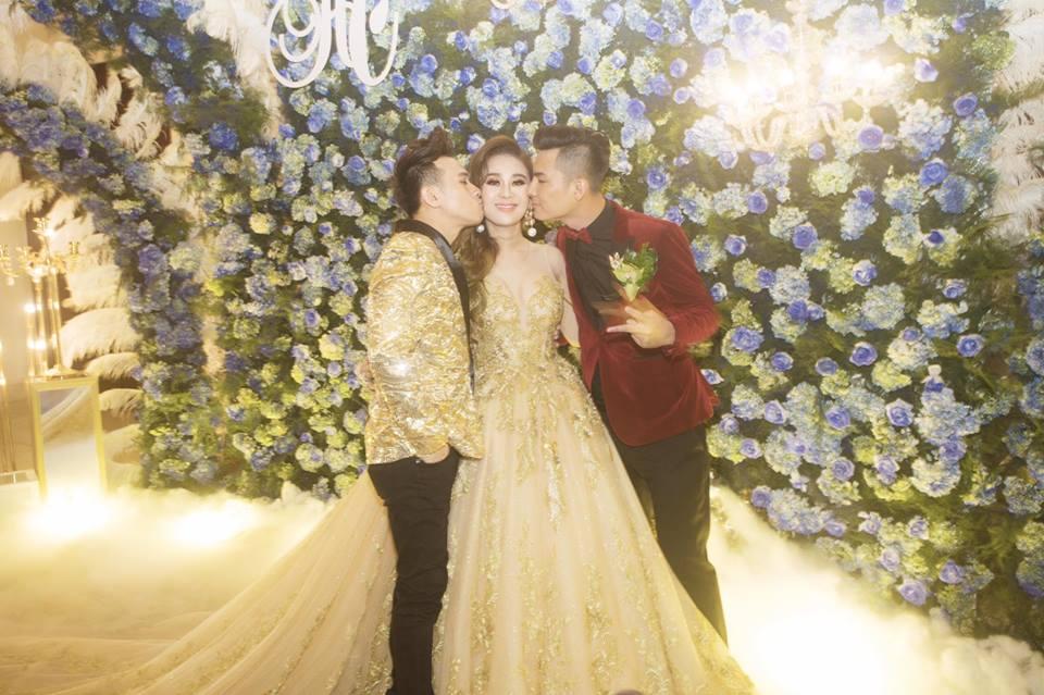 Nhìn lại những khoảnh khắc vui tươi nhưng đầy xúc động trong đám cưới Lâm Khánh Chi: Ai cũng xứng đáng có được hạnh phúc! - Ảnh 13