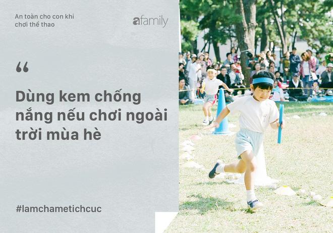 10 điều bố mẹ phải làm để con an toàn khi chơi thể thao và hoạt động thể chất - Ảnh 7