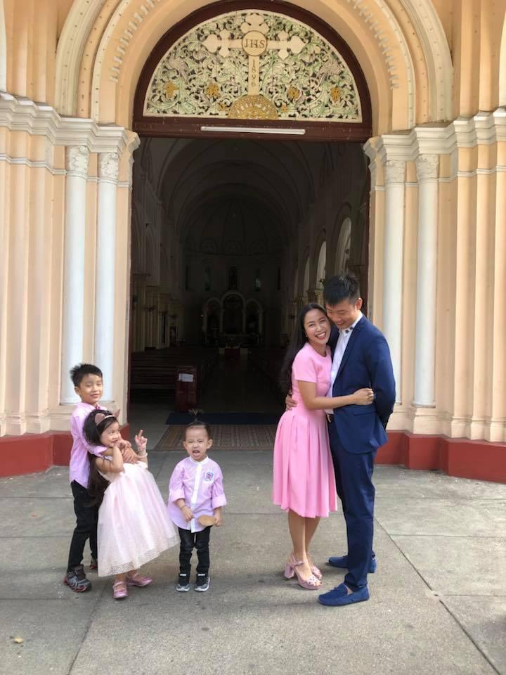 Ốc Thanh Vân bồi hồi nhớ lại khoảnh khắc 9 năm trước cùng chồng sánh bước tại nhà thờ - Ảnh 2
