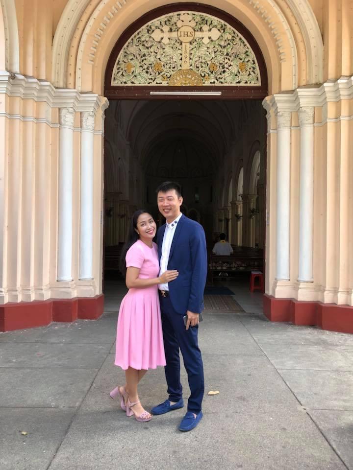 Ốc Thanh Vân bồi hồi nhớ lại khoảnh khắc 9 năm trước cùng chồng sánh bước tại nhà thờ - Ảnh 4