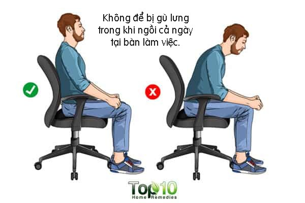 Ngồi làm việc mà không quên làm thêm những việc này thì bạn không phải lo chuyện đau lưng, đau cổ hay có tư thế xấu xí - Ảnh 3