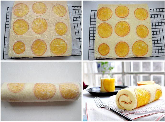 Bánh bông lan cuộn cam mềm ẩm thơm phức ăn 1 lại muốn ăn 2 - Ảnh 4